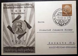"DR Privatganzsache PP 122 C58 Mit Sonderstempel ""Gössnitz"" (S1274) - Postwaardestukken"
