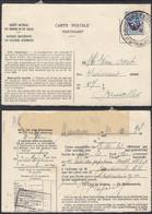Belgique 1934 - Carte Postale De Service- Avis De Non Livraison De Mouscron à Destination Bruxelles....  (DD) DC-9754 - Servizio