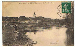 BRAY SUR SOMME * LE PORT DE LA GAYETTE * 1912 * - Bray Sur Somme