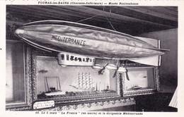 17 - Charente Maritime - FOURAS Les BAINS - Musée Rouletabosse - Modelisme - Dirigeable Mediterranée - Fouras-les-Bains