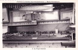 17 - Charente Maritime - FOURAS Les BAINS - Musée Rouletabosse - Modelisme - La Plage Centrale - Fouras-les-Bains