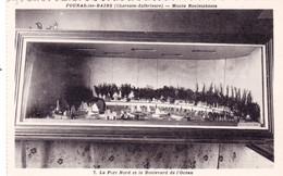 17 - Charente Maritime - FOURAS Les BAINS - Musée Rouletabosse - Modelisme - Le Port Et Le Boulevard De L Océan - Fouras-les-Bains