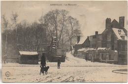 80 ABBEVILLE  Les Remparts Sous La Neige - Abbeville