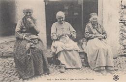 SANREMO-VECCHIE DONNE -CARTOLINA  NON  VIAGGIATA -1900-1904 - Imperia