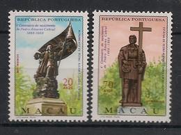 Macao - 1968 - N°Yv. 414 à 415 - Pedro Cabral - Neuf Luxe ** / MNH / Postfrisch - Ongebruikt