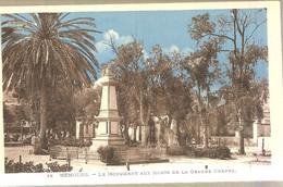 447 NEMOURS 77 LE MONUMENT AUX MORTS DE LA GRANDE GUERRE - DOS BLANC NON ECRIT - Oorlogsmonumenten