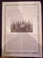 LE 7e REGIMENT DE MARCHE DE TIRAILLEURS - 8e REGIMENT DE MARCHE DES ZOUAVES - 23e REGIMENT D'INFANTERIE - Documentos Históricos