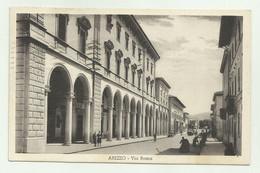 AREZZO - VIA ROMA 1934   VIAGGIATA  FP - Arezzo