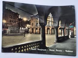 Italy, Casale Monferrato Piazza Marrini Notturno - Other Cities