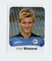 Bundesliga Fussball Panini 2006-2007 Artur Wichniarek     N. 84  New Con Velina Sticker - Italiaanse Uitgave