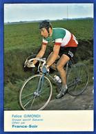 CPSM CYCLISME - FELICE GIMONDI - Groupe Sportif Salvarini - France-Soir - Radsport