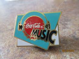 A0013 -- Pin's Coca Co¨la Music - Coca-Cola