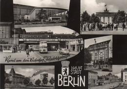 DC2518 - Ak BERLIN Rund Um Den Bahnhof Friedrichstraße - Mitte