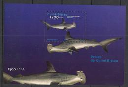 Guinée-Bissau - 2002 - Bloc Feuillet BF N°Yv. 133 (Mi. 380) - Requin Marteau - Neuf Luxe ** / MNH / Postfrisch - Otros