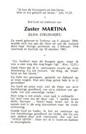 Zuster, Soeur: Torhout, Kortrijk: 1987, Elisa Dieussaert, Maelbrancke - Santini