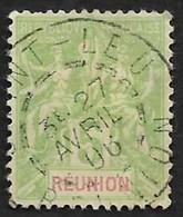 REUNION   1900  - YT 46 - Oblitéré - Used Stamps