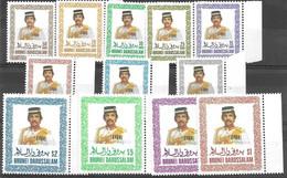 1985 Brunei Complete Set 30 Euros Mnh ** - Brunei (1984-...)