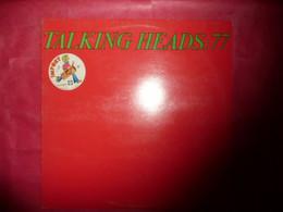 LP33 N°7289 - TALKING HEADS : 77 - 9103 128 - MADE IN ENGLAND - Rock