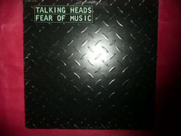 LP33 N°7290 - TALKING HEADS - FEARS OF MUSIC - 2 C070 63108 - Rock