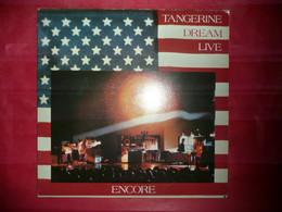 LP33 N°7293 - TANGERINE DREAM LIVE - ENCORE - STEREO 25 495 XBT - 2 LP'S - ELECTRO AMBIENT - Nueva Era (New Age)