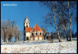 1 AK Tschechien * Jubiläumskirche Der Jungfrau Maria Zum Bildchen In Ruprechtice (deutsch Ruppersdorf) * - Tschechische Republik