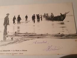 ARCACHON PECHE A L'OCEAN PRECURSEUR 1902 ANIMATION - Arcachon