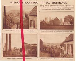 Orig. Knipsel Coupure Tijdschrift Magazine - Paturages Borinage Mijnontploffing - Explosion  - 1929 - Non Classés