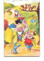 Walt Disney   Blanche Neige Et Les 7 Nains Sept  WD18 - Otros