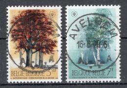 BELGIE: COB 1526/1527 Mooi Gestempeld. - Oblitérés