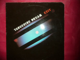 LP33 N°7295 - TANGERINE DREAM - EXIT - 203998 - ELECTRO POP SYNTHE AMBIENT - Nueva Era (New Age)
