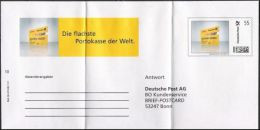 Plusbrief Individuell Ganzsache Dienstganzsache Deutsche Post EAI A2 /01 Postcard Antwort BONN Ungelaufen - Sobres Privados - Nuevos