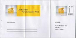 Plusbrief Individuell Ganzsache Dienstganzsache Deutsche Post EAI A2 /04 Postcard Antwort PASSAU Ungelaufen - Sobres Privados - Nuevos