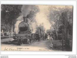 CPA Algerie Duperré La Gare Et Le Train - Other Cities