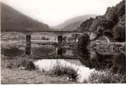 Bohan Sur Semois-+/-1960-Ancien Pont Du Tram (Vicinal)-Le Pont Cassé Et Le Village En Arrière Plan - Vresse-sur-Semois