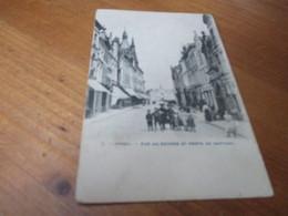 Ypres, Ieper, Rue Au Beurre Et Porte De Neptune - Ieper