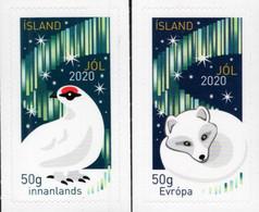 Iceland - 2020 - Christmas - Mint Self-adhesive Stamp Set - Nuevos