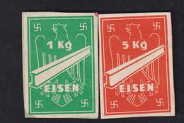 DR Drittes Reich / Bezugsmarken Eisen - Oorlog 1939-45
