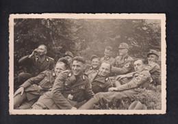 DR Fotokarte Soldaten Breslau - War 1939-45