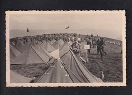 DR Fotokarte Zeltlager Weil Am Rhein - Guerra 1939-45