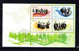 IRELAND    2006    Irish  Music    Sheetlet    MNH - Blocs-feuillets