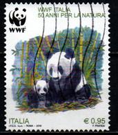 ITALIA - 2016 - PANDA - WWF ITALIA - CINQUANTENARIO - USATO - 2011-...: Afgestempeld
