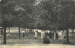 15 , LAROQUEBROU , Esplanade Du Champ De Foire Et Joueurs De Croquet , * 404 39 - Andere Gemeenten