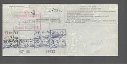 Timbre Fiscal  Fiscaux Automobile   I.D. 21 - Unclassified