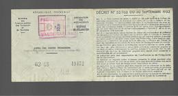 Timbre Fiscal  Fiscaux Automobile   R 11 - Revenue Stamps