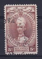 Malaya - Kelantan: 1937/40   Sultan Ismail    SG43    5c     Used - Kelantan