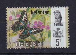 Malaya - Kelantan: 1971/78   Butterflies    SG114    5c    [Litho]   Used - Kelantan