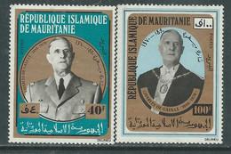Mauritanie  N° 293 / 94 XX Général De Gaulle, Les 2 Valeurs Sans Charnière, TB - Mauritania (1960-...)