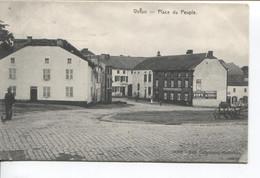 REF2795/ CP-PC Viton Place Du Peuple Animée Maison Henri Lefer Platrier - Virton