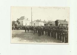 40 - PONTENX LES FORGES - CP PHOTO  Sur La Place Remise De Medailles Aux Veterans En  1933 Belle Animation Bon état - Altri Comuni