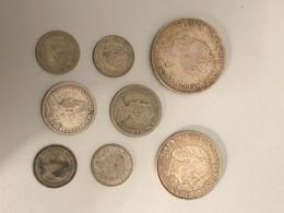 Lot De 8 Pièces Pays-Bas (argent) - Lots